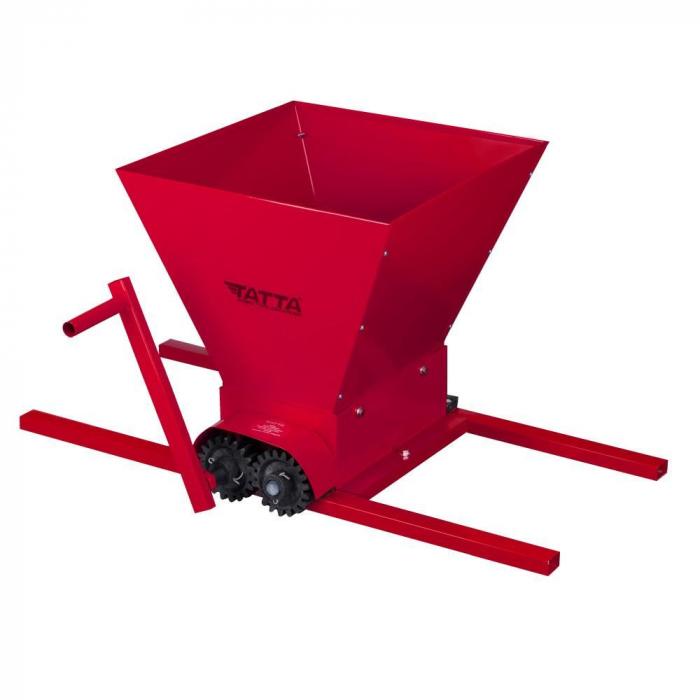 Zdrobitor de struguri (G 5), capacitate maruntire 300 kg/h, cuva 20 l, fier [0]
