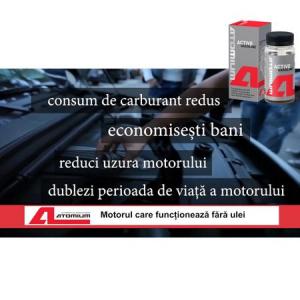 Aditiv ulei, Atomium, Active Gasoline, antiuzura, 90 ml, pentru autoturisme benzina, pana in 50.000 km2