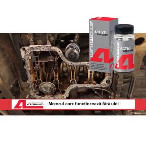 Aditiv ulei, Atomium, Active Gasoline, antiuzura, 90 ml, pentru autoturisme benzina, pana in 50.000 km1
