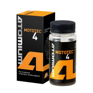 Aditiv ulei, Atomium, Mototec 4, antiuzura, 100 ml, pentru motociclete in patru timpi, barci si snowmobile0