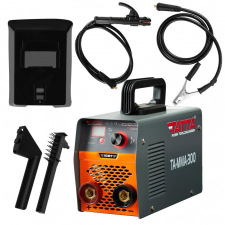 Aparat de sudura smart (G 15), autotestare la pornire, putere absorbita 9.5 kVA, eficienta 85%, electrod 1.6-4.0 mm, accesorii incluse [0]