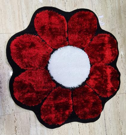Covor Floare - Rosu [0]