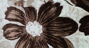 Covor Imperial Gri cu Flori [1]