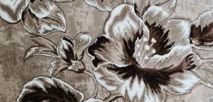 Covor Imperial Gri cu Flori [0]