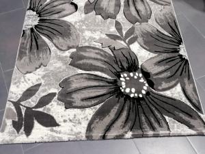Covor Imperial Gri cu Flori [2]
