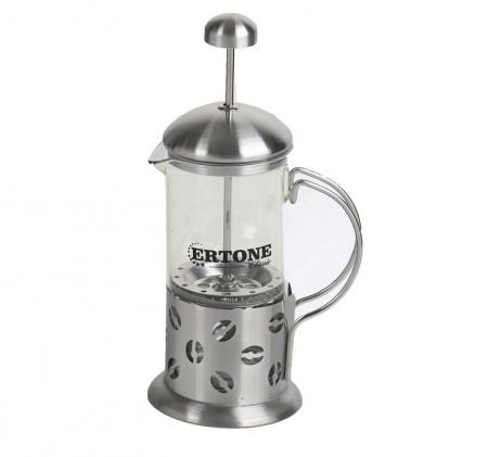 Infuzor ceai sau cafea 800 ml, din sticla si inox [1]