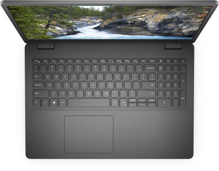 "Laptop Dell Vostro 3500 cu procesor Intel Core i7-1165G7 pana la 4.70 GHz, 15.6"", Full HD, 8GB, 512GB SSD, NVIDIA GeForce MX330 with 2GB GDDR5 graphics memory, Windows 10 Pro, Black 1"