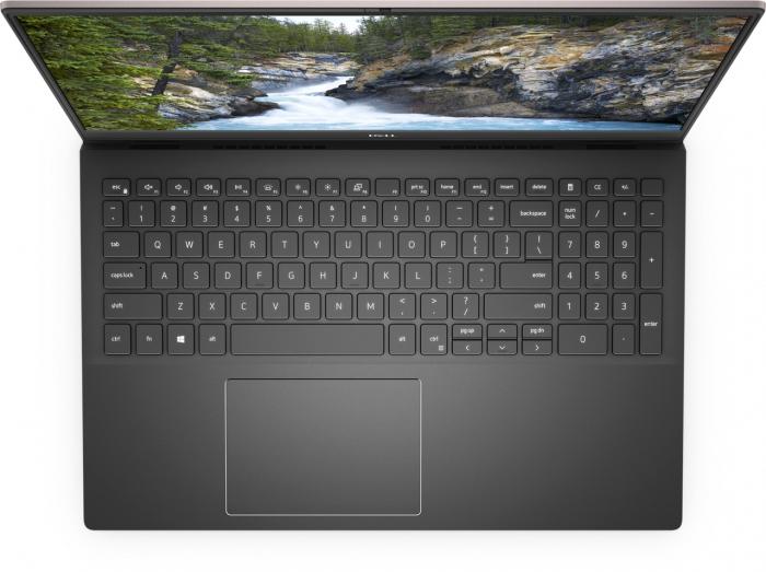 Laptop Dell Vostro 5502 cu procesor Intel® i5-1135G7 (2.4GHz to 4.2Ghz, 8MB, 4C), 8GB DDR4, M.2 256GB PCIe NVMe SSD, no ODD, Intel Iris XE, Wifi ac+BT5, backlit Keyb, Ubuntu, Vintage Gray [8]