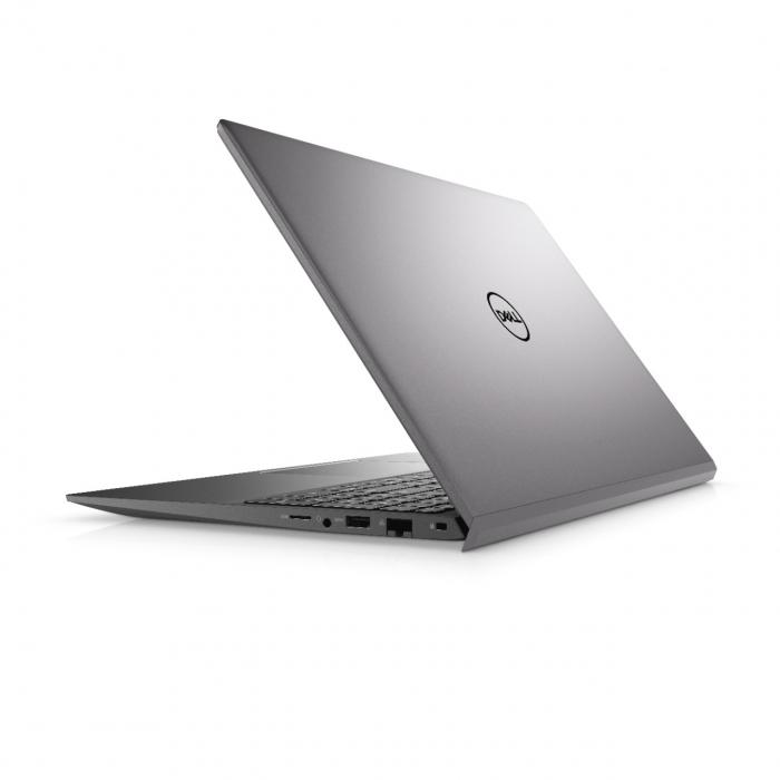 Laptop Dell Vostro 5502 cu procesor Intel® i5-1135G7 (2.4GHz to 4.2Ghz, 8MB, 4C), 8GB DDR4, M.2 256GB PCIe NVMe SSD, no ODD, Intel Iris XE, Wifi ac+BT5, backlit Keyb, Ubuntu, Vintage Gray [3]