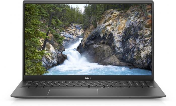 Laptop Dell Vostro 5502 cu procesor Intel® i7-1165G7 (to 4.7Ghz, 12MB, 4C), 8GB DDR4, M.2 512GB PCIe NVMe SSD, no ODD, NVIDIA GeForce MX330 2GB GDDR5, Wifi ac+BT5, backlit Keyb, W10 Pro, Gray [1]