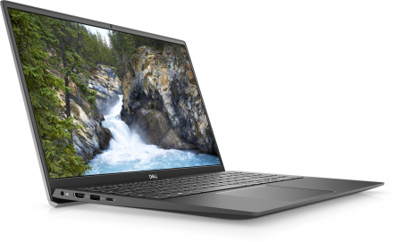 Laptop Dell Vostro 5502 cu procesor Intel® i5-1135G7 (2.4GHz to 4.2Ghz, 8MB, 4C), 16GB DDR4, M.2 512GB PCIe NVMe SSD, no ODD, Intel Iris XE, Wifi ac+BT5, backlit Keyb, Ubuntu, Vintage Gray [2]