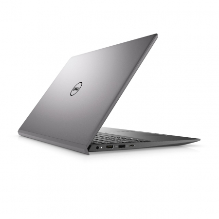 Laptop Dell Vostro 5502 cu procesor Intel® i5-1135G7 (2.4GHz to 4.2Ghz, 8MB, 4C), 8GB DDR4, M.2 256GB PCIe NVMe SSD, no ODD, Intel Iris XE, Wifi ac+BT5, backlit Keyb, Ubuntu, Vintage Gray [4]