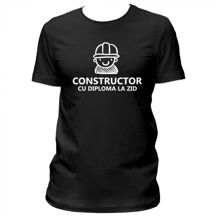 Tricou Constructor 0