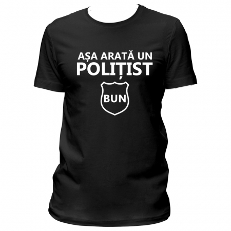 Tricou Politist bun0