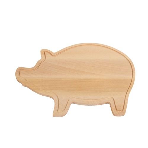 Tocator din lemn in forma de porcusor 1
