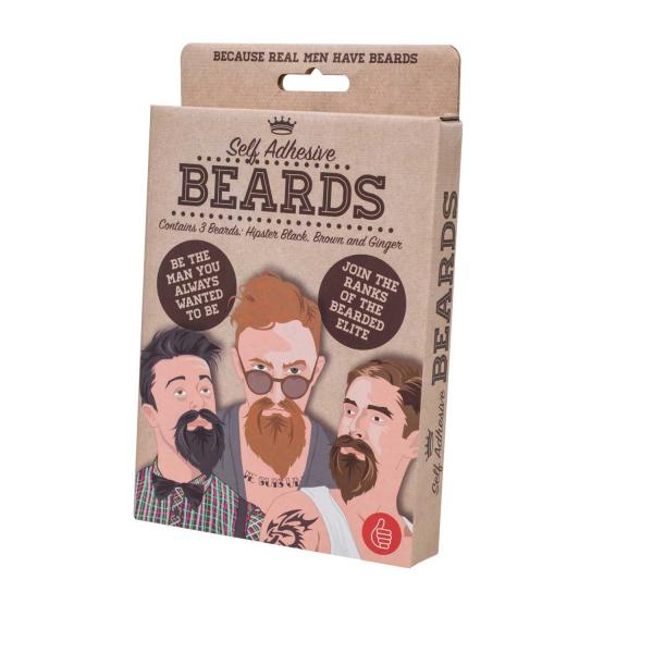 Set Barba falsa autoadeziva 3