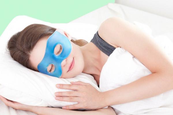 Masca cu gel pentru ochi Relax 0