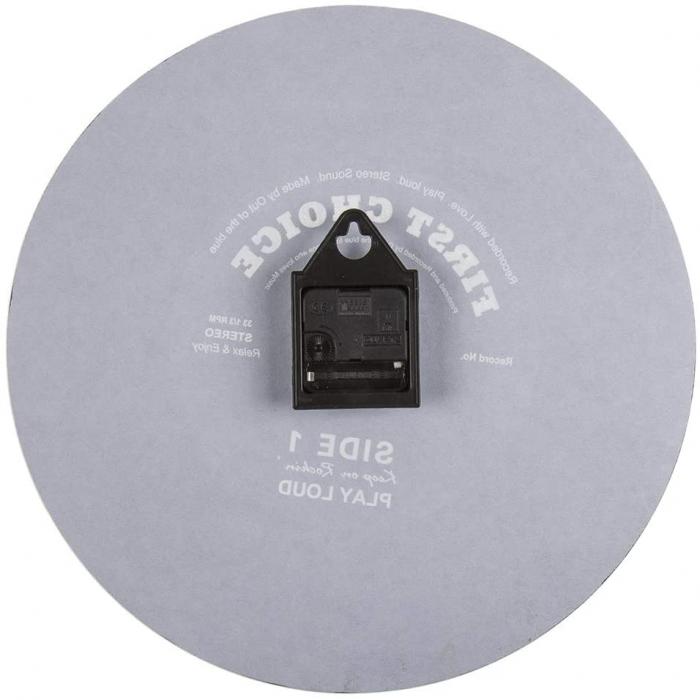 Ceas de perete Oglinda - Disc Vinil 38 cm 3