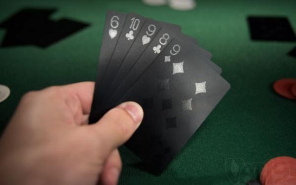 Carti de Joc Negre 0