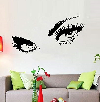 Sticker Decorativ Perete Eyes 1