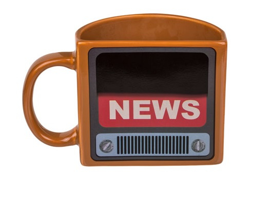 Cana termosensibila Televizor Fake News 2