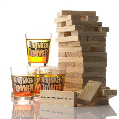 Joc de societate - Jenga cu shoturi/Drunken Tower 0