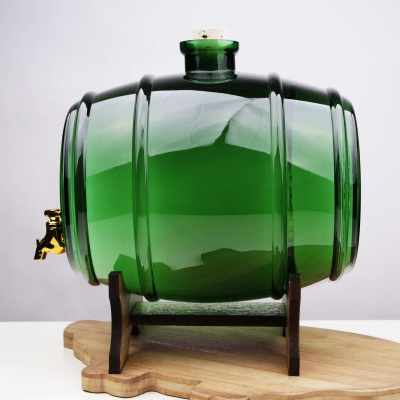 Butoi din sticla verde 3