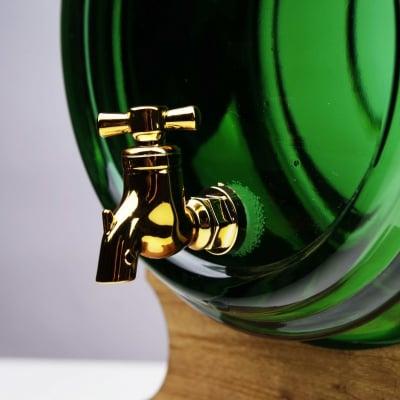 Butoi din sticla verde 4