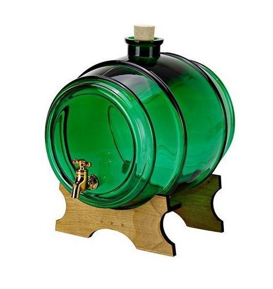 Butoi din sticla verde 5