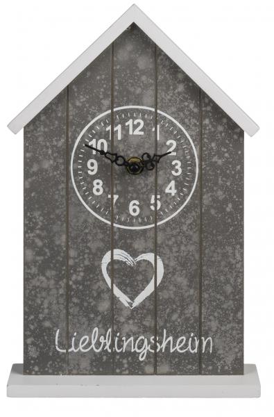 Ceas de birou Casuta din lemn 2