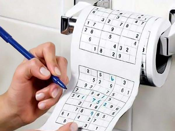 Hartie Igenica Sudoku 0