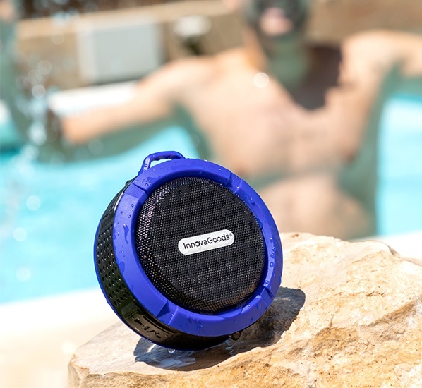 Boxa Bluetooth fara fir portabila Waterproof 2