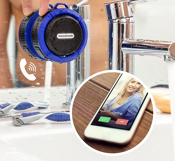 Boxa Bluetooth fara fir portabila Waterproof 7