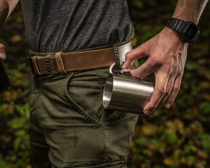 Cana oțel inoxidabil Carabiner 3
