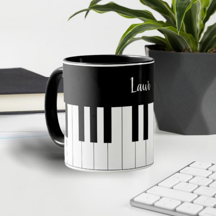 Cana personalizata cu text- Piano 0