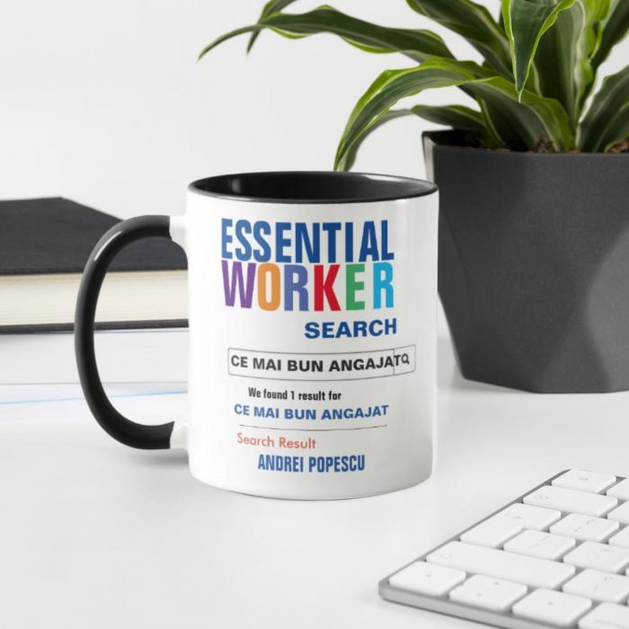 Cana personalizata - Cel mai bun angajat [1]