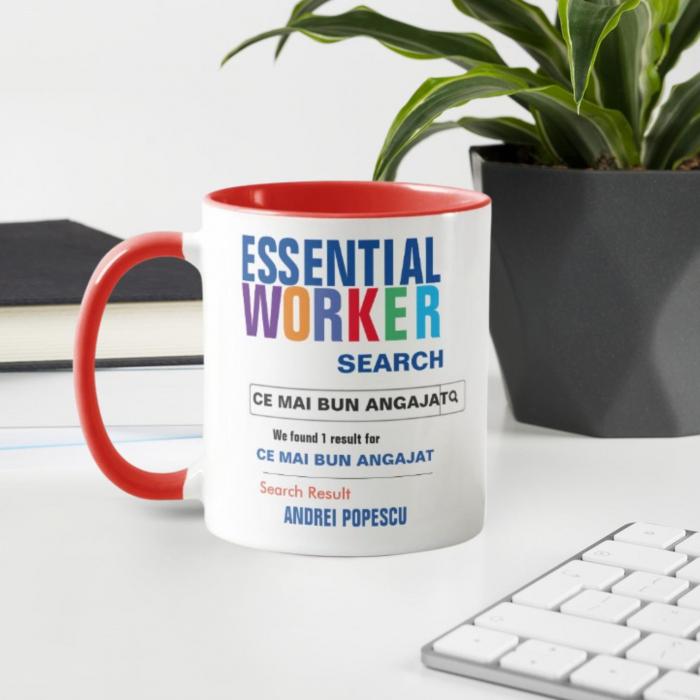 Cana personalizata - Cel mai bun angajat [0]