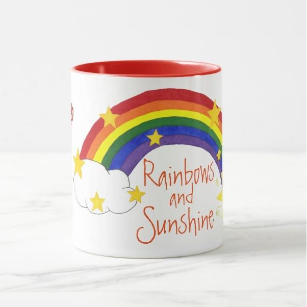 Cana personalizata Rainbows 1