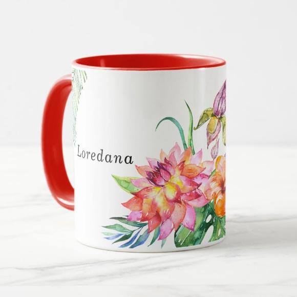 Cana personalizata Floral 4