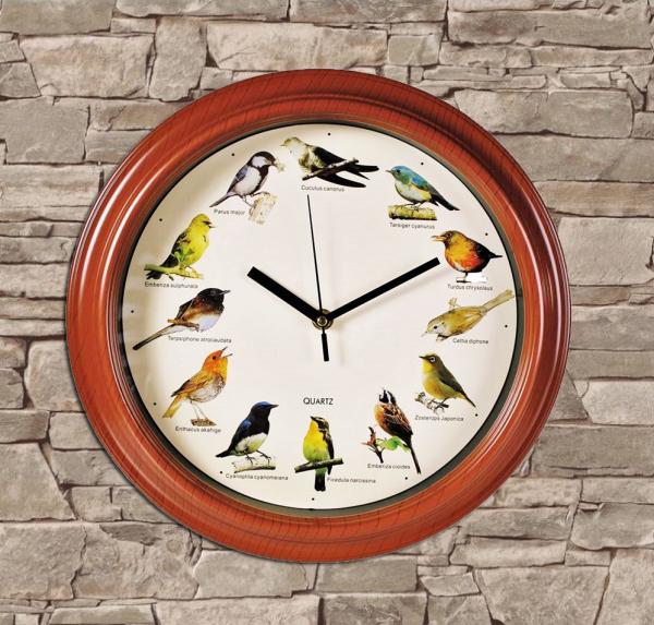 Ceas de perete Bird Melody