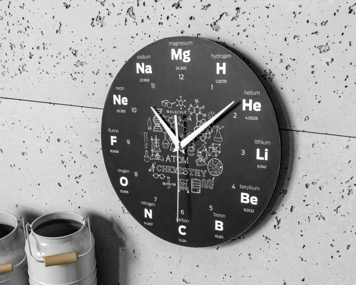 Ceas de perete  CHEMISTRY 3