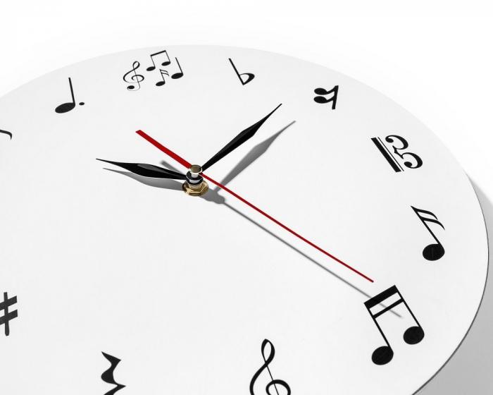 Ceas de perete MUSIC  30 cm [2]