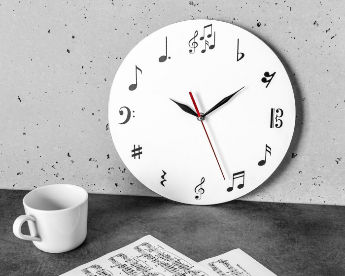 Ceas de perete MUSIC  30 cm [4]