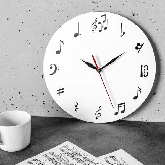 Ceas de perete MUSIC 30 cm