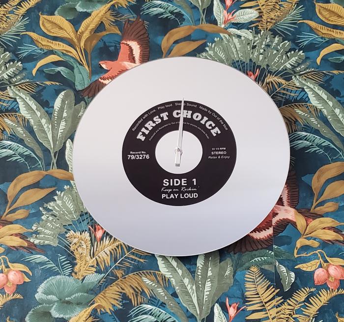 Ceas de perete Oglinda - Disc Vinil 38 cm 0