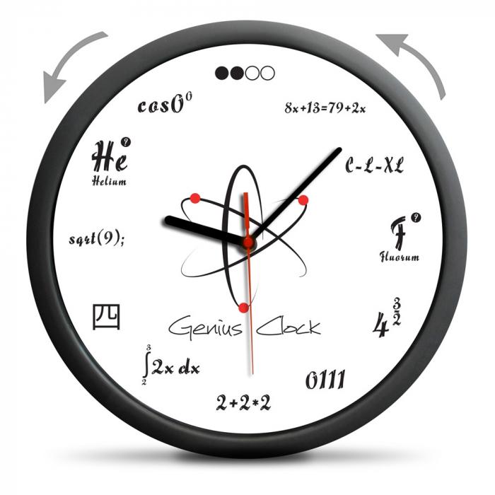 Ceas de perete Geniu 1