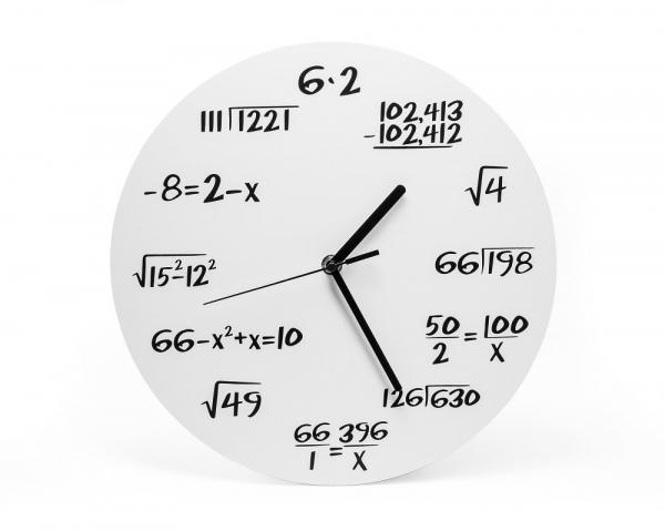 Ceas Matematica Alb 1