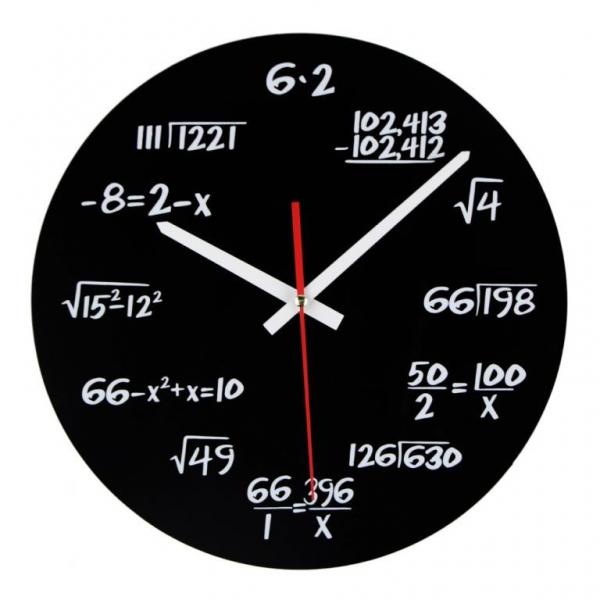 Ceasul de perete Matematica 2