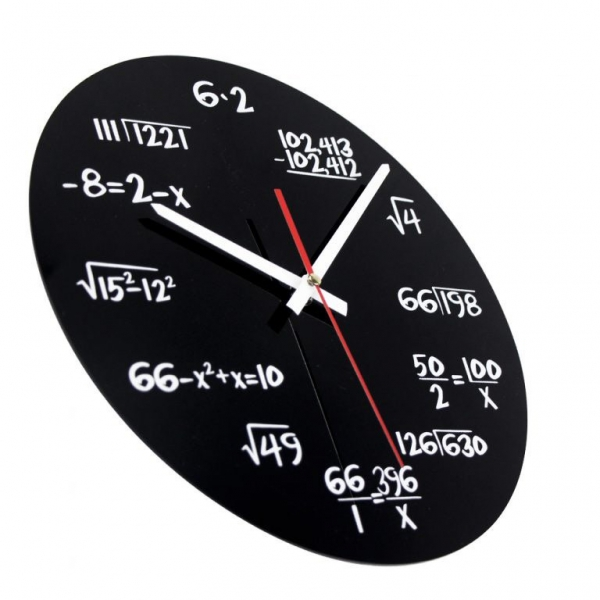 Ceasul de perete Matematica 3