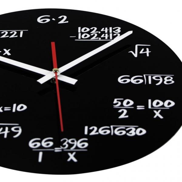 Ceasul de perete Matematica 4